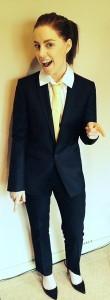 Lisa in Suit